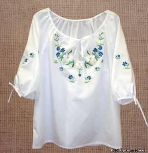 Оптовая продажа Женская одежда: Оптовая продажа одежды с вышивкой