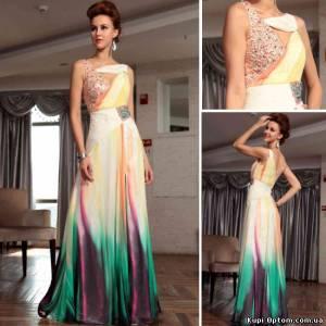 Мелкий опт Одежда женская: Эксклюзивные вечерние платья от производителя оптом и в розницу