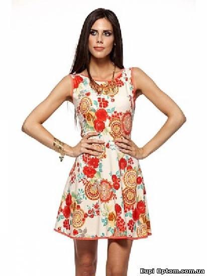 Женские платья больших размеров оптом - Купить