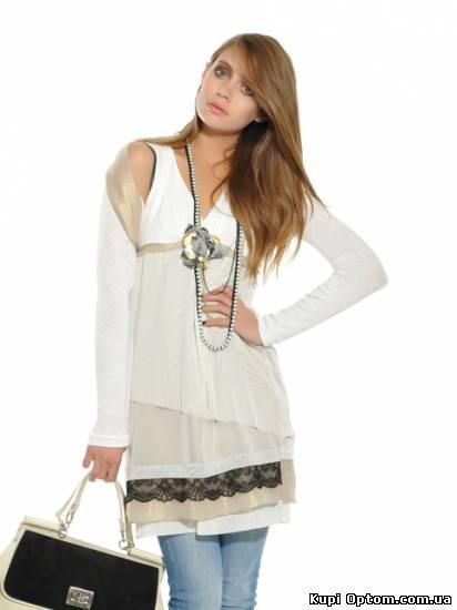 Брендовую женскую одежду купить оптом в